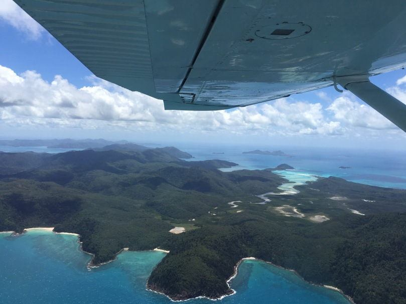 Rundflug Great Barrier Reef und Whitsunday Islands   thebraidedgirl