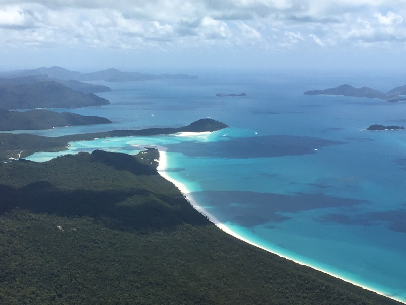 Rundflug Great Barrier Reef und Whitsunday Islands | thebraidedgirl