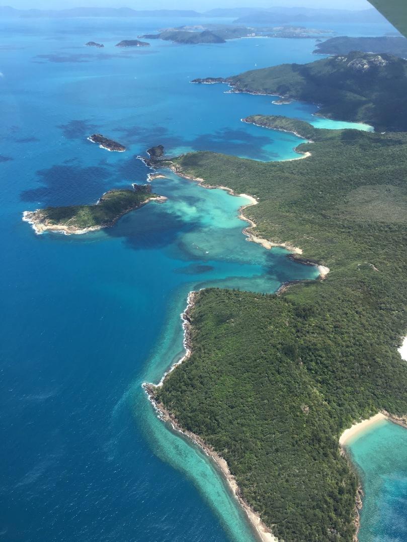 Rundflug Great Barrier Reef und Whitsunday Islands | thebraidedgirl