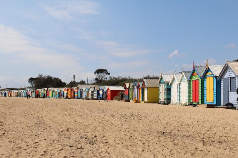 Melbourne Brighton Beach | thebraidedgirl